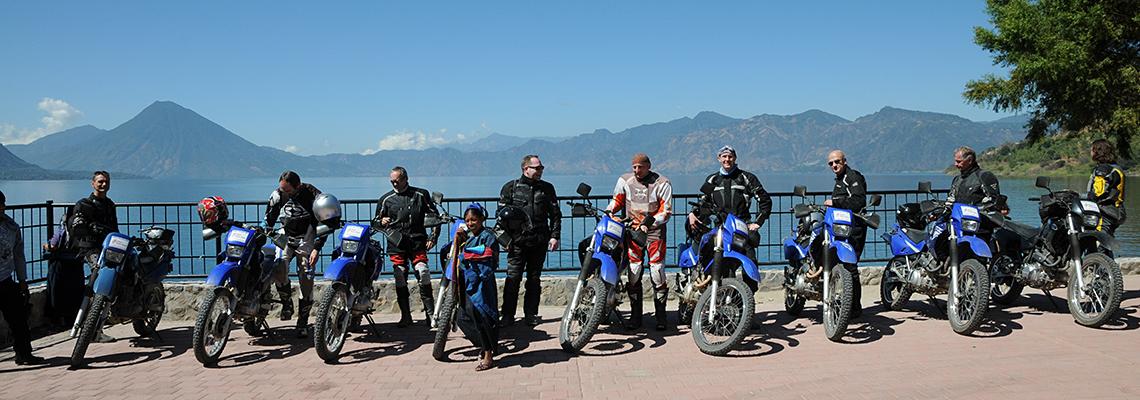 motorradreisen guatemala